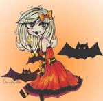Halloween Lolita Jade by oscurabella