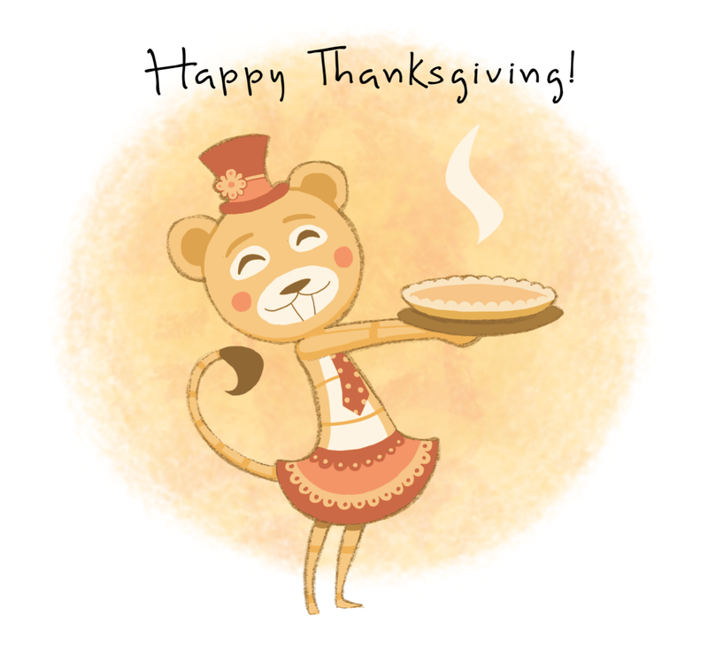Happy Thanksgiving! 2014 by HannahNew