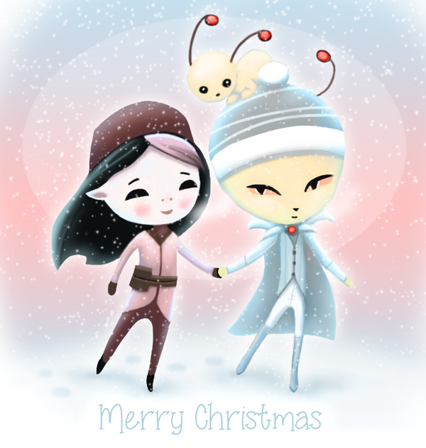 Merry Christmas 2014 by HannahNew