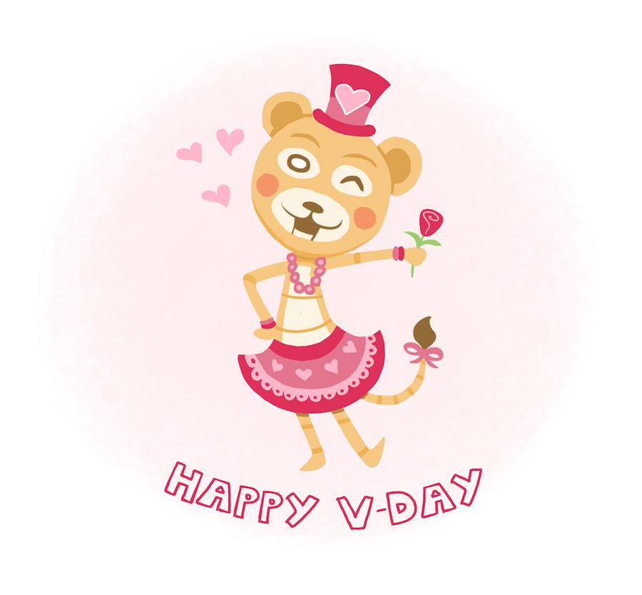 Happy V-day by HannahNew