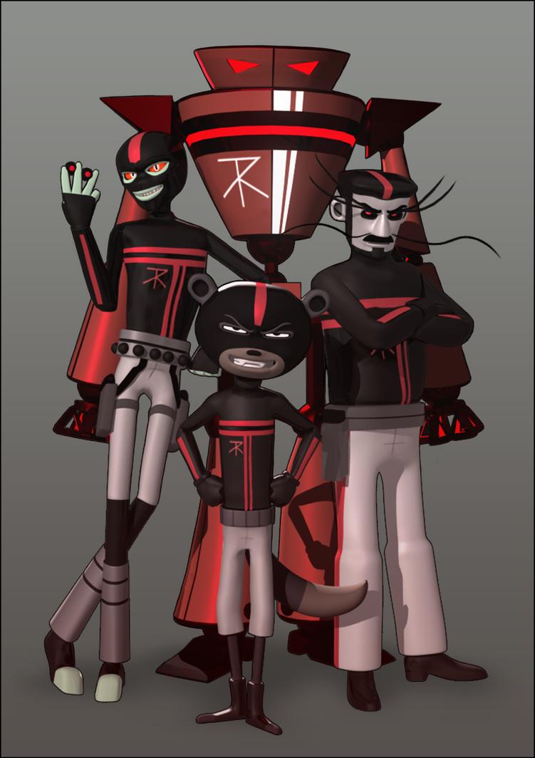 Reddok's Unit by HannahNew