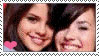 Selena and Demi stamp by yumi95