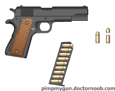 Digital Colt M1911 by Crypto-137