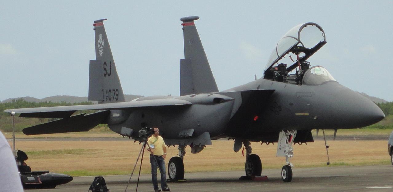 15E Strike Eagle Close Up by Crypto-137
