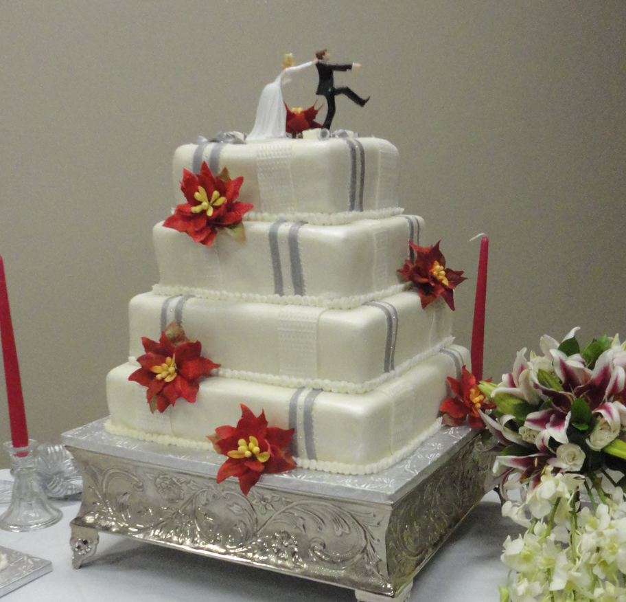 Wedding Cake Figurines Png
