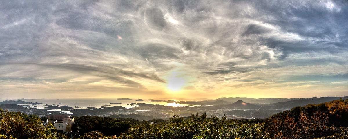 Marble Skies In Japan by TimGrey
