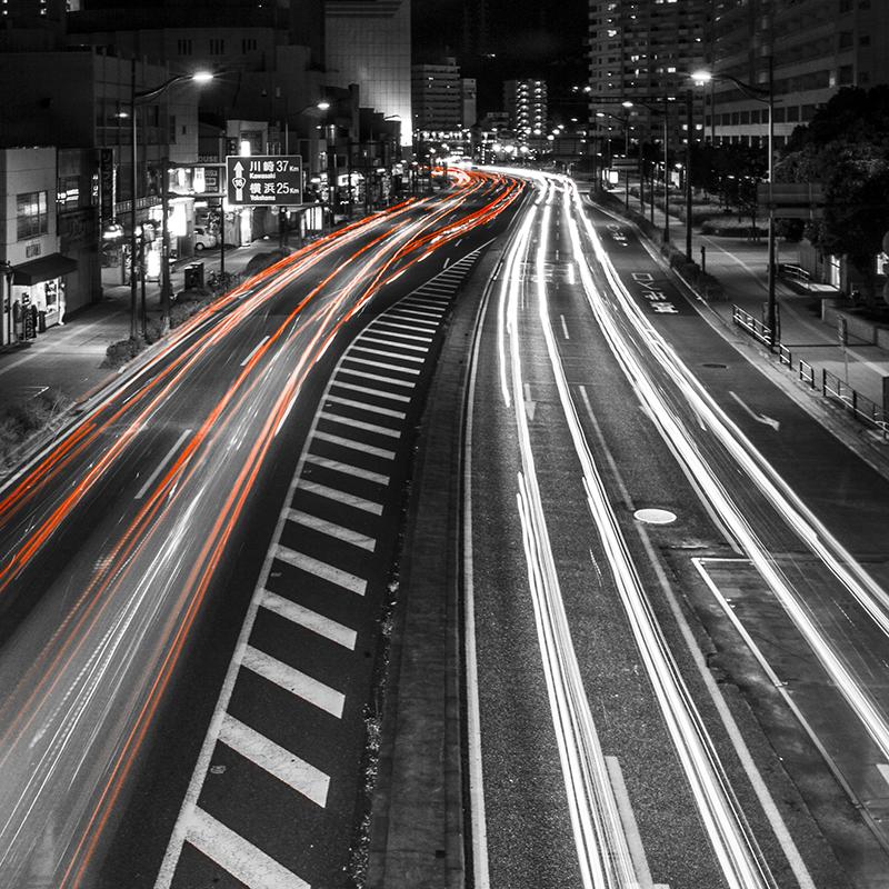 Traffic Stream by TimGrey