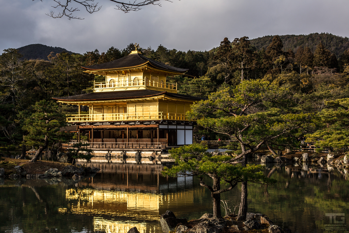 Temple of the Golden Pavilion by TimGrey