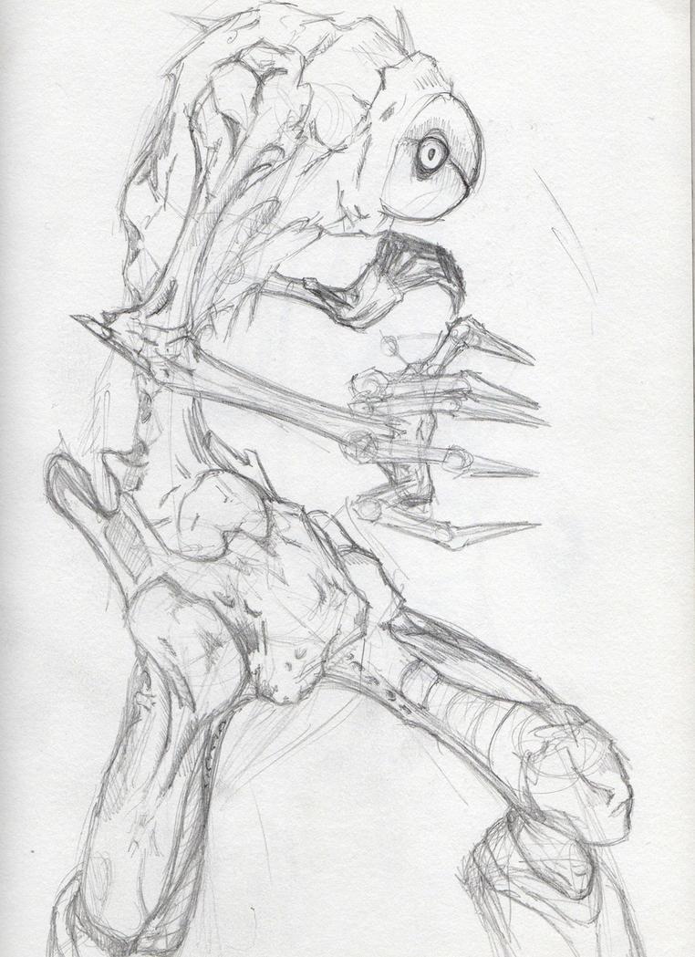 Mutant Bug Faerie Sketch By Zeragoth On Deviantart