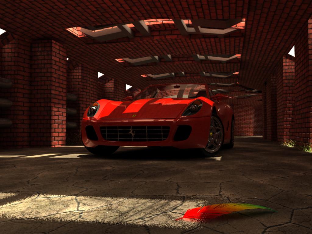 Ferrari 599 GTB 1 by Abhishrut