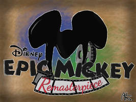 Epic Mickey Remake Concept: Title Art