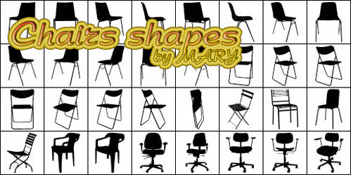 Chairs shapes