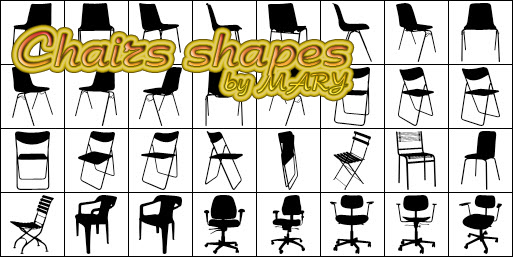 Chairs shapes by MARY1976