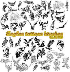 Eagles tattoos brushes