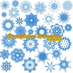 Snowflakes 2 brushes