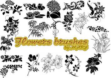 Flowers Brushes