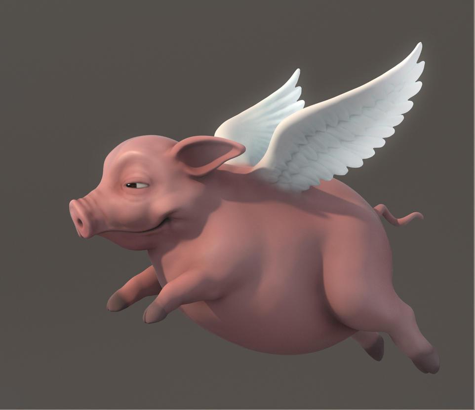 Pig 1 by Genko3D