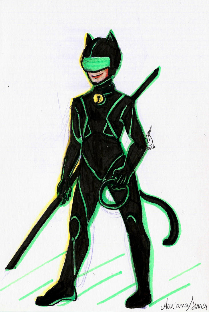 Miraculous Tron - Chat Noir by SonicPossible00