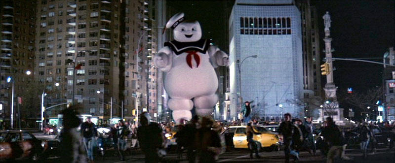 Ghostbusters: StayPuft attacks by SonicPossible00