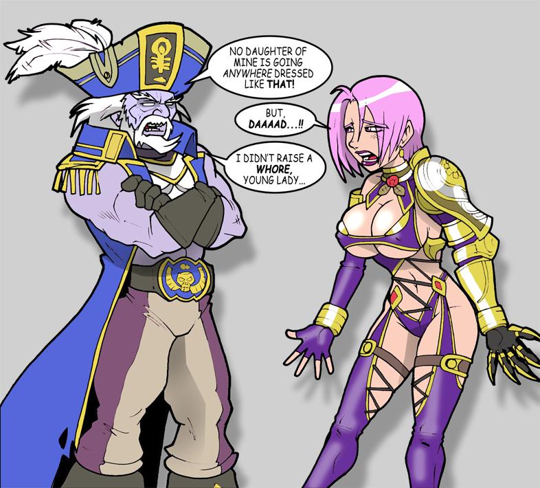 Soul Calibur IV Taki & Ivy