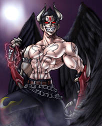 Devil Jin by CerberusLives