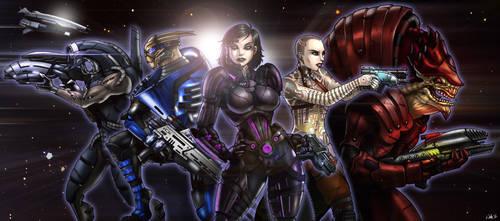 Mass Effect by CerberusLives