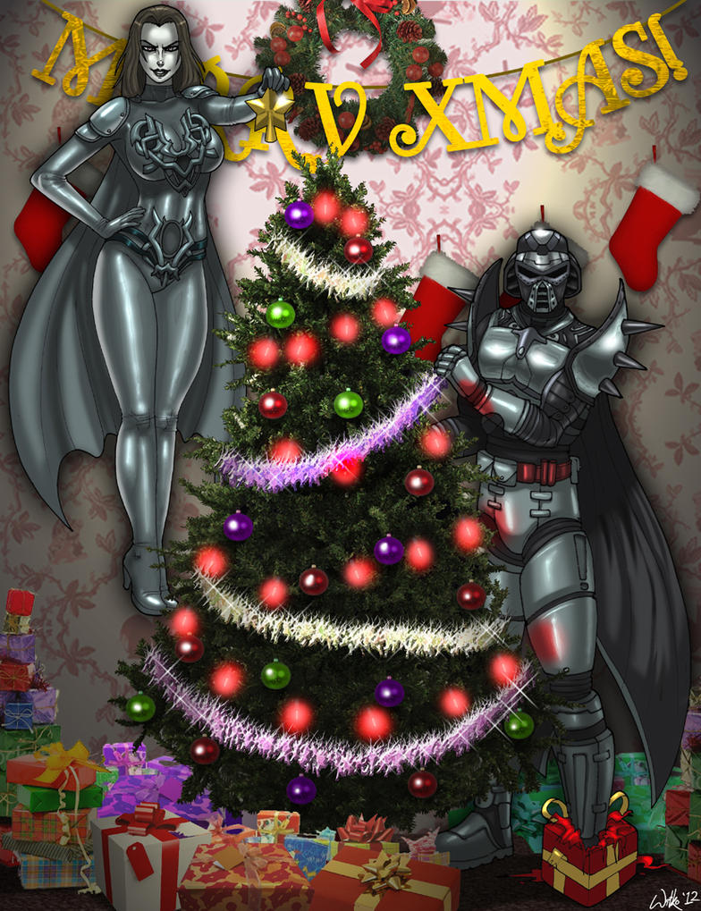 A Villainous Christmas by CerberusLives