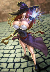 Sorceress by CerberusLives