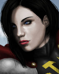 Soviet Superwoman by CerberusLives
