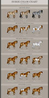 HORSE COLOR CHART - Patterns *UPDATED*