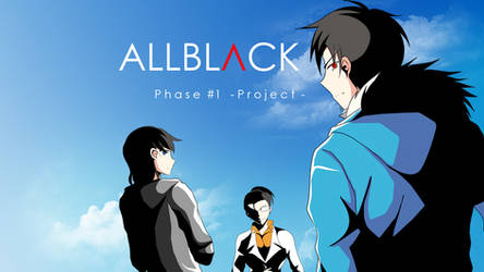 ALLBLACK Ch.1 Released! by SECONDARY-TARGET