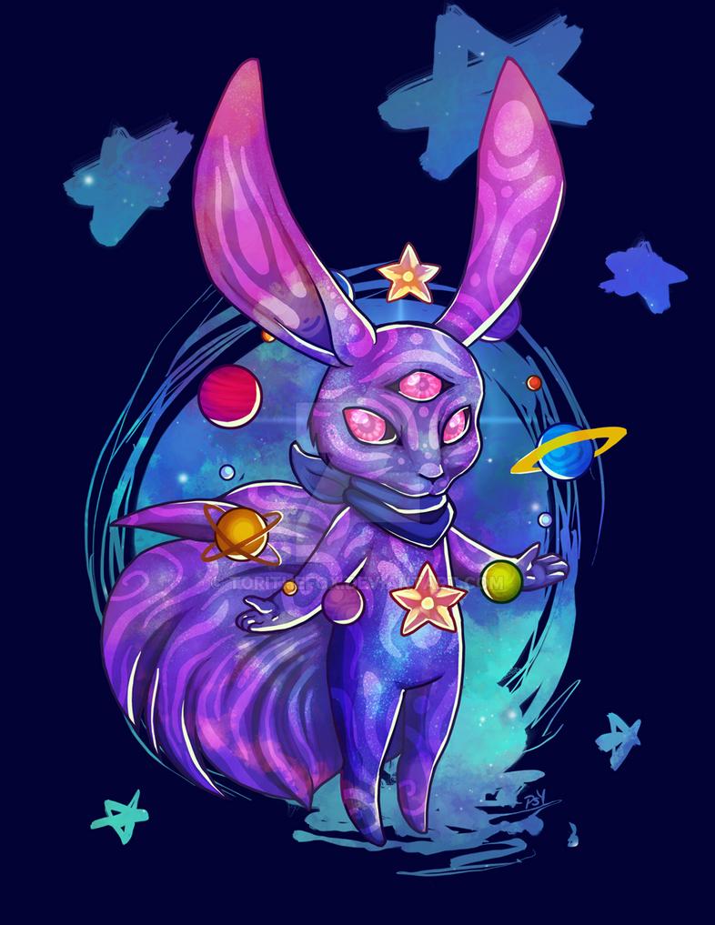 Spacebun by torithefox