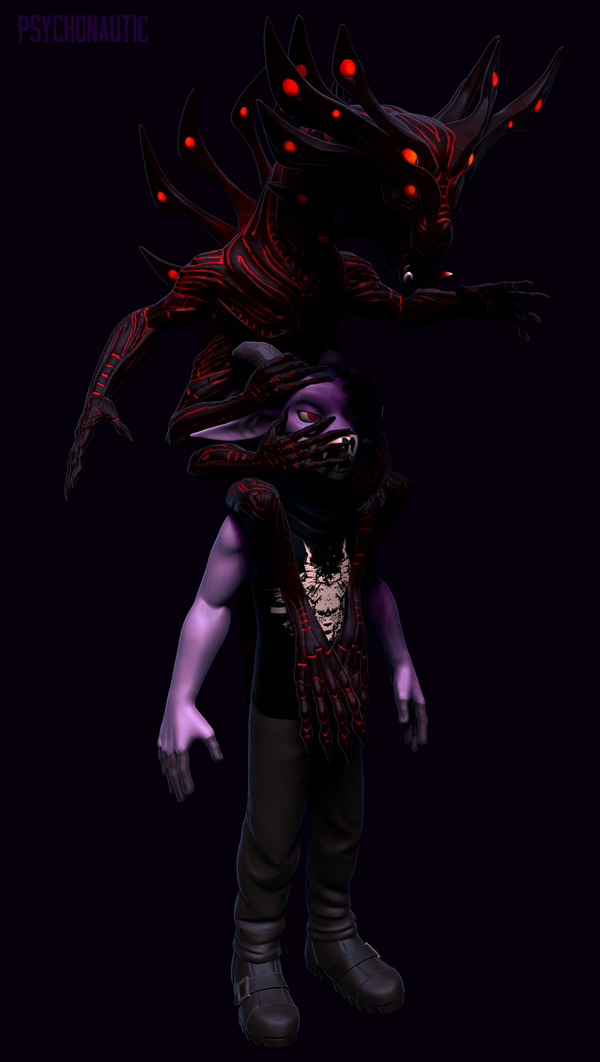 The syntax spirit (Sotona) by torithefox
