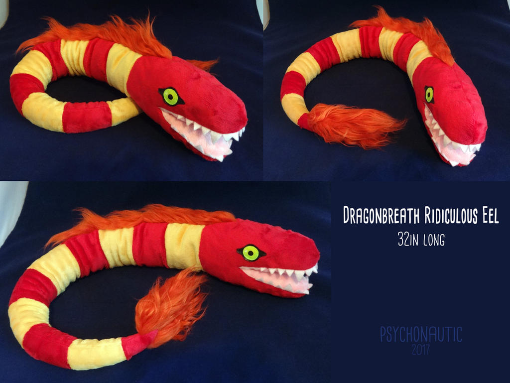 Dragonbreath ridiculous eel by torithefox