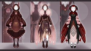 [OPEN 1/3] Outfit Adopt #134-136 Auction