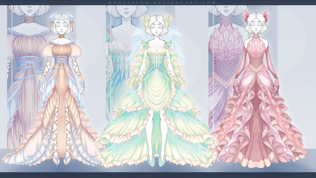 [CLOSED] Outfit Adopt #145-147 Auction