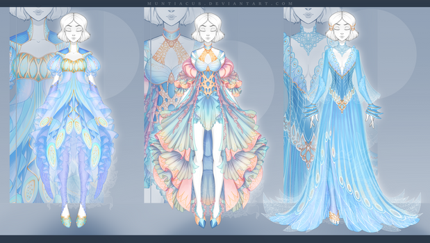 [CLOSED] Outfit Adopt #166-168 Auction