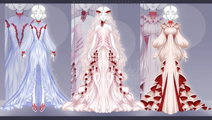 [CLOSED] Outfit Adopt #183-185 Auction