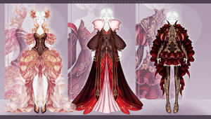 [CLOSED] Outfit Adopt #241-243 Auction