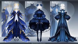 [CLOSED] Outfit Adopt #270-272 Auction