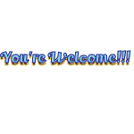 You're Welcome 1 by LA-StockEmotes