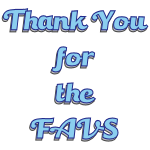 Thank you for the FAVS 4 by LA-StockEmotes