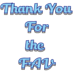 Thank You for the FAV 3 by LA-StockEmotes