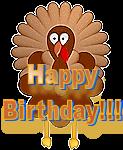 Happy Birthday Turkey 1 by LA-StockEmotes