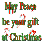 May Peace be your gift at Christmas by LA-StockEmotes
