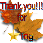 Thank You for Faving Leaves