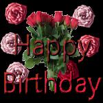 Roses Happy Birthday by LA-StockEmotes