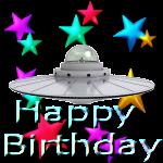 UFO Happy Birthday