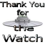 UFO Thank you for the watch