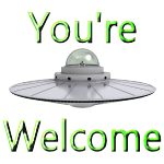UFO You're Welcome